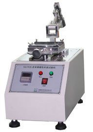 Chiny IULTCS Leather Test Machine Color Fastness To Rubbing With Reciprocating Method dostawca