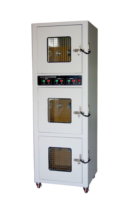 Three Tanks Battery Discharge Overcharge Explosion Proof Test Chamber